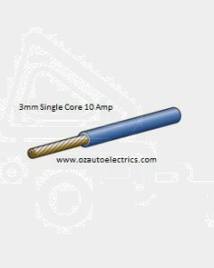 Narva 5813-30BE Blue Single Core Cable 3mm (30m Roll)