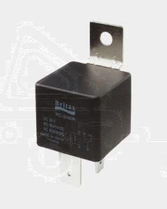 Britax Mini Relay 12V 60/80amp H/DUTY 5 Pin Change Over Res Protected