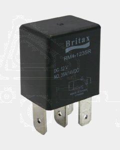 Britax C/over Micro Relay 12V 25/30a 5 PIN n/o Resistor Type