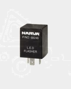 Narva 68246BL 12 Volt 3 Pin L.E.D Flasher - Blister Pack