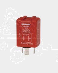 Narva 68251BL 12 Volt 3 Pin L.E.D Electronic Flasher with Pilot