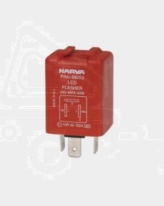 Narva 68253BL 24 Volt 3 Pin L.E.D Electronic Flasher with Pilot