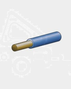 6mm Blue Single Core Cable - Cut to Length (1m)
