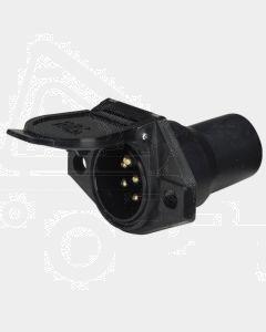Narva 82092 7 Pin Heavy-Duty Round Nylon Trailer Socket