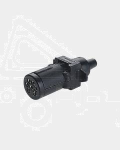 Narva 82121BL 7 Pin Small Round Plastic Trailer Plug