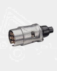 Narva 82161BL 7 Pin Large Round Metal Trailer Plug