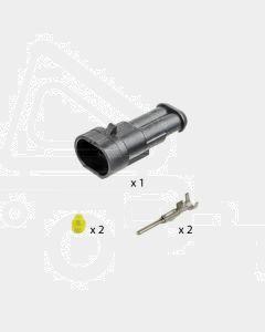 AMP Superseal 2 Circuit Receptacle Kit