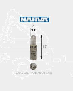 Narva 47706 Dash Panel Globe 24V 1.2W KW2 x 4.6d Base, White (Box of 10)