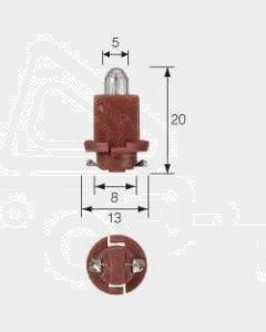 Narva 47713 Dash Panel Globe 24V 0.4W EBSR (BAX) Base, Red (Box of 10)