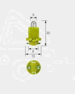 Narva 47714 Dash Panel Globe 24V 1.2W EBSR (BAX) Base, Yellow (Box of 10)