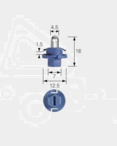 Narva 47738 Dash Panel Globe 12V 1.2W B8.4d Light Blue Base (Box of 10)