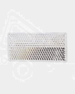 Hella Retro Reflector - White (70x32mm) (2921)