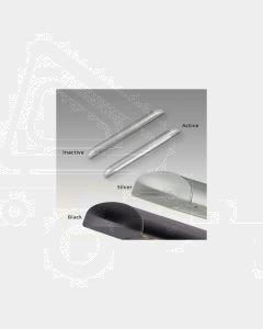 LED Autolamps 23260 Caravan Awning Lamp - 12V, Silver (Single Blister)