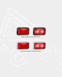 LED Autolamps 58RM3 Rear End Outline Marker Lamp (3m Cable, Bulk Poly Bag)