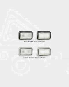 LED Autolamps 58WMB2P Front End Outline Marker Lamp (Bulk Poly Bag with 2C Plugs)