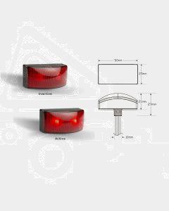 LED Autolamps 50025RM2 Rear End Outline LED Marker Lamp