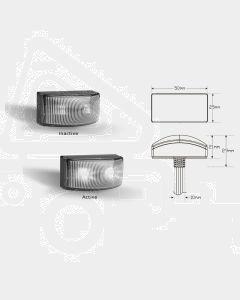 LED Autolamps 5025WM2 Front End Outline LED Marker Lamps