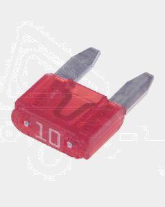 Narva 52710BL Mini Blade Fuse - 10Amp (Blister Pack of 5)
