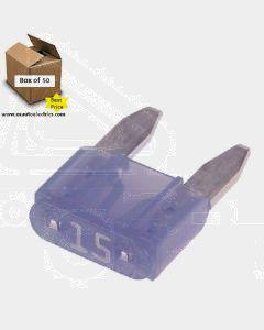 Narva 52715 Mini Blade Fuses - 15Amp (Box of 50)