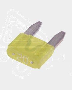 Narva 52720BL Mini Blade Fuse - 20Amp (Blister Pack of 5)