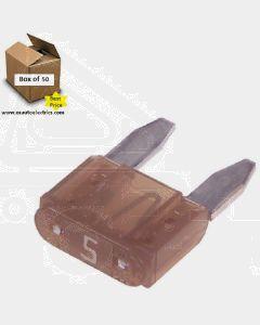 Narva 52705 Mini Blade Fuse - 5Amp (Box of 50)