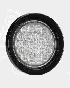 Narva 94048BL 9-33 Volt L.E.D Reverse Lamp Kit (White) with Vinyl Grommet - Lamp Only (Blister Pack)