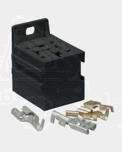 Narva 68082/50 Relay Connector for 9.5mm x 1.2mm Flat Pin Connectors (Bulk 50)