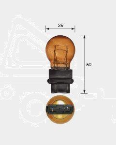 Narva 47558 Wedge Globe 12V 27/7W Amber W2.5 x 16q (Box of 10)