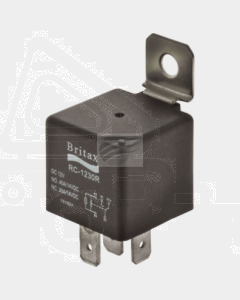 Britax C/over Mini Relay 12V 30/40amp 5 Pin n/o Resistor Type