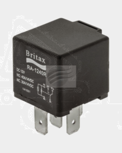 Britax C/over Mini Relay 12V 40/40amp 5 Pin 30 & 86 Reversed