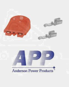 Anderson B02265G1 SBS Mini Connector Assembly - Red