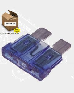Narva 52815 Standard ATS Blade Fuses - 15Amp (Box of 50)